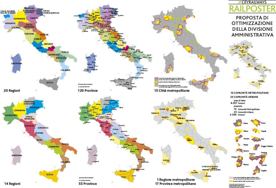 Административное деление Италии Italia